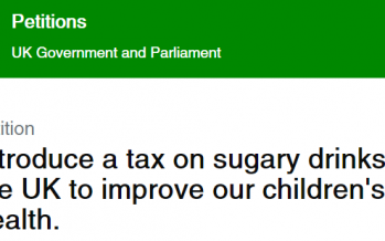 Parliamentary debate on sugary drinks