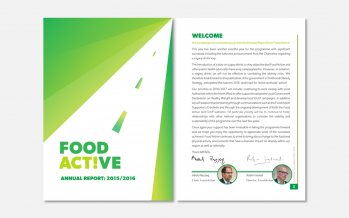 Food Active Annual Report: 2015 / 2016