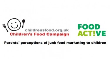 New Food Active and Children's Food Campaign Research Launched