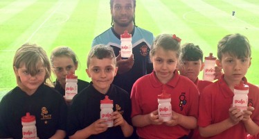Blackpool Council launch GULP Campaign with Blackpool FC