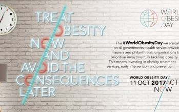 Supporting World Obesity Day – 11th October 2017