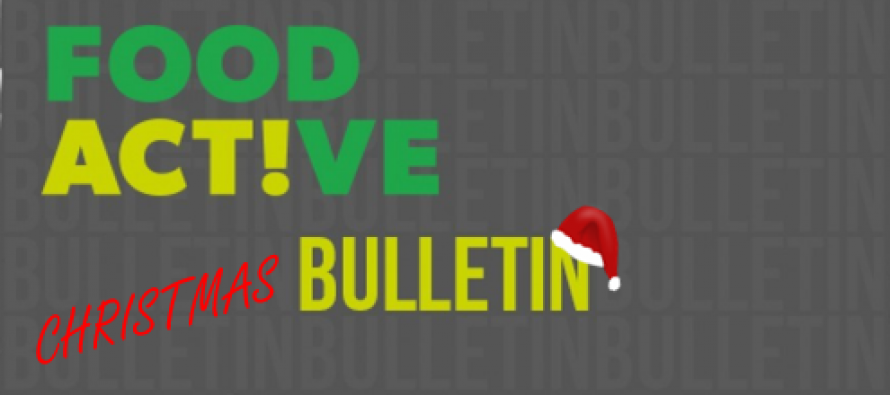 Latest Food Active Bulletin – Christmas Special