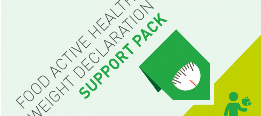 Healthy Weight Declaration Support Pack Update