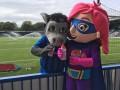 Rochdale AFC Mascots help children to #GiveUpLovingPop