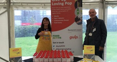 Blackpool Fresher's encouraged to #GiveUpLovingPop