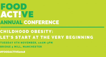 #FoodActive2018 welcomes delegates to 'Childhood Obesity: Let's Start at the Very Beginning'