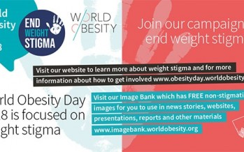 World Obesity Guest Blog: What can we do to #EndWeightStigma?