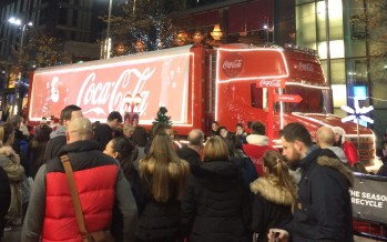 Coca-Cola scales back Christmas Truck Tour by over a third