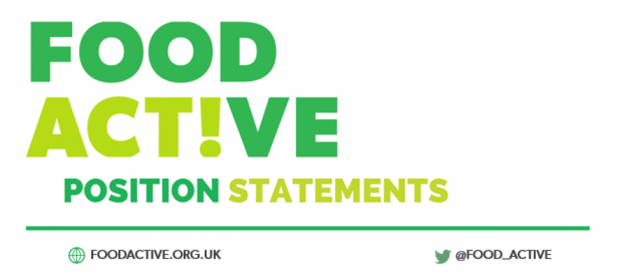 Position Statement: Food as a safeguarding issue