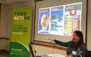Food Active's North West Consultation Event: Restricting price and placement promotions on less healthy food and drink