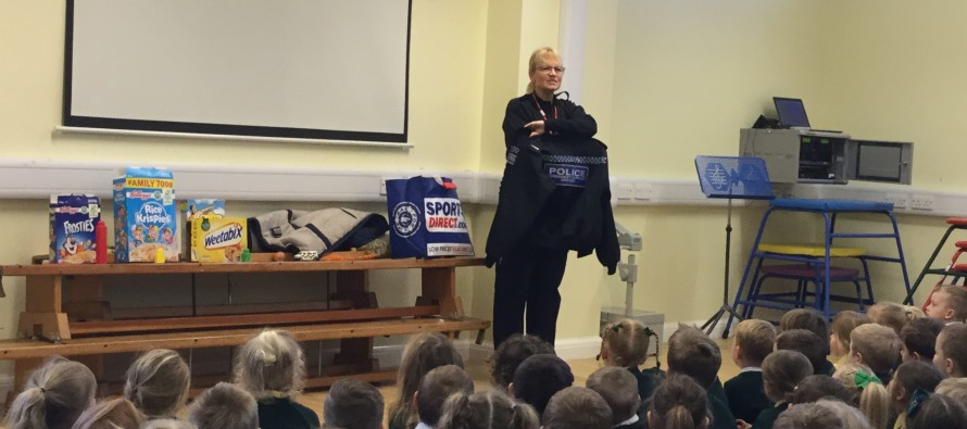 Blackpool Council and the Lancashire Police Constabulary team up to deliver Healthy Breakfast sessions in Primary Schools