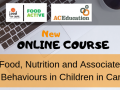 New Online Food and Nutrition Course for Carers of Children and Young People in Care