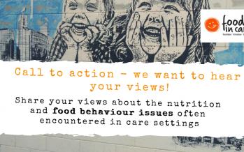 Food as a safeguarding issue – a call to action.