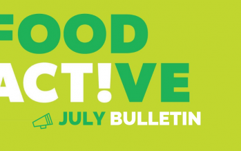 Food Active Bulletin: July