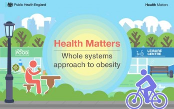 Public Health England publish Whole Systems Approach to Obesity guidance