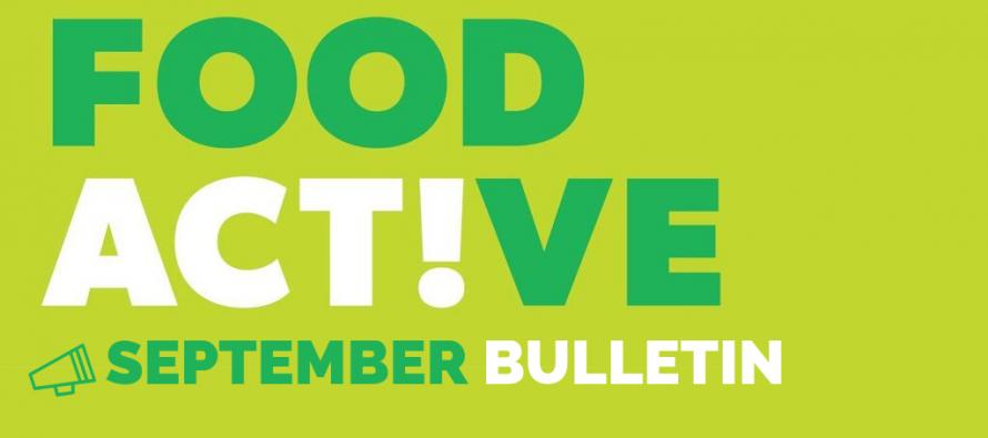 Food Active Bulletin: September