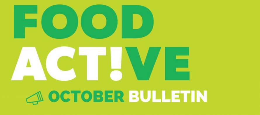 Food Active Bulletin: October