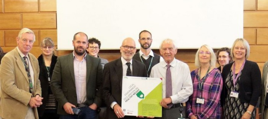 Devon County Council become the first local authority in the South West to adopt the Healthy Weight Declaration