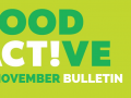 Food Active Bulletin: November