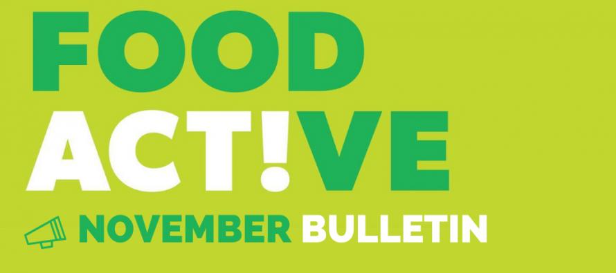 Food Active Bulletin: November