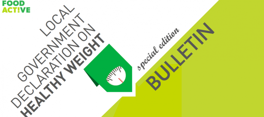 Food Active Bulletin: Healthy Weight Declaration Special Edition Bulletin January 2020