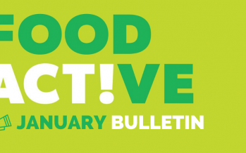 Food Active Bulletin: January 2020