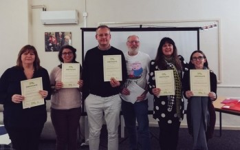 Cooking and Company Champions trained as part of healthy eating and social inclusion project